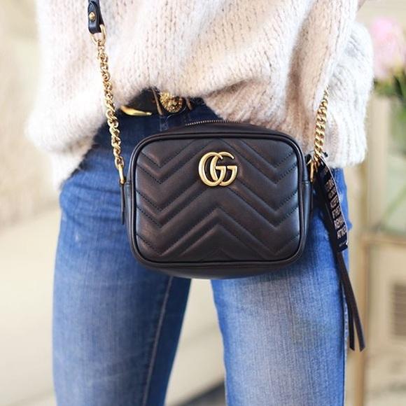 e673b0269 Gucci Bags   Gg Marmont Matelass Mini Bag   Poshmark